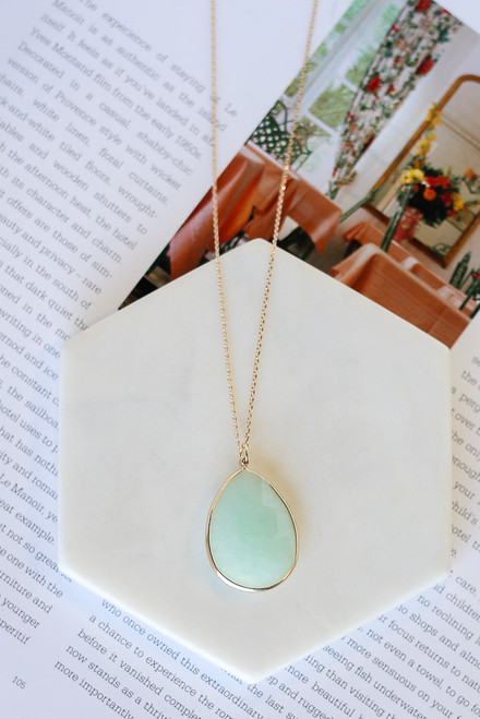 Mint - Pendant Necklace
