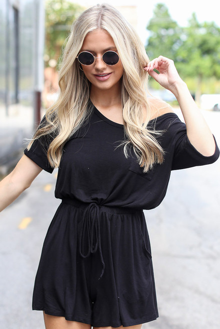 Black - Ultra Soft Romper from Dress Up