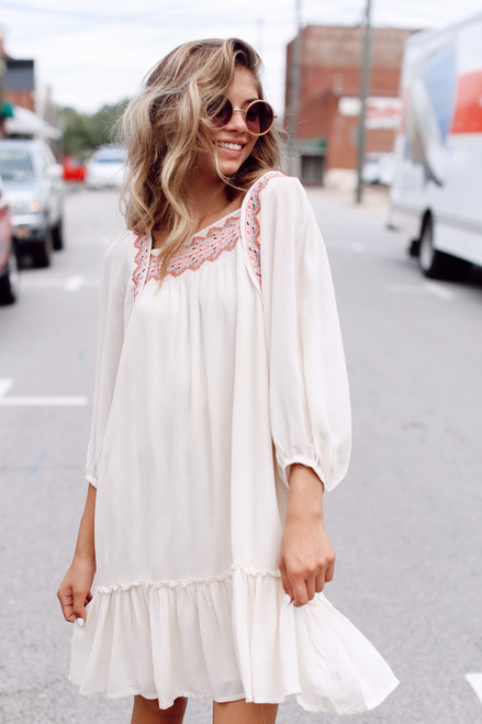 Ivory - Embroidered Dress from Dress Up