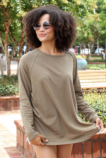 Olive - Oversized Top from Dress Up