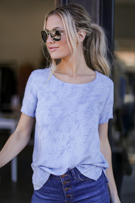Denim - Tie-Dye Top from Dress Up