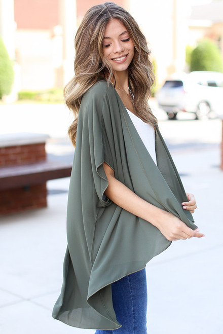 Olive - Lightweight Kimono from Dress Up