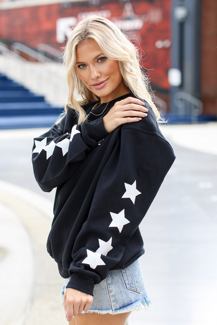Black - Atlanta Baseball Star Pullover from Dress Up