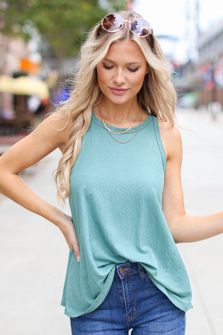 Mint - Basic Tank from Dress Up