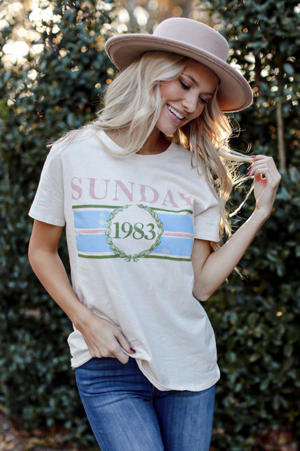 Ivory - Sunday Best Graphic Tee