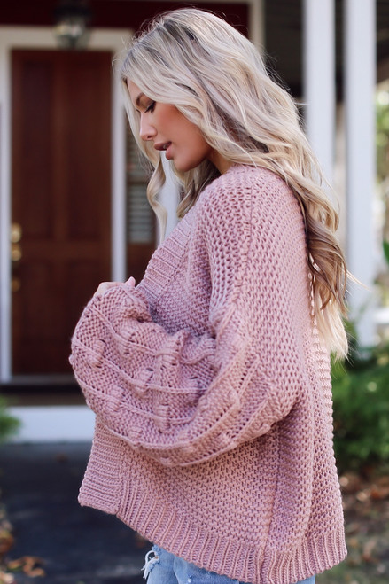 Blush - Sweater Cardigan from Dress Up
