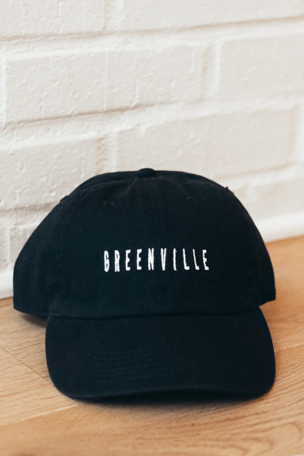 Black - Greenville Cap