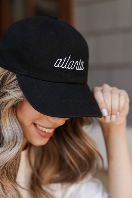 Black - Atlanta Cap