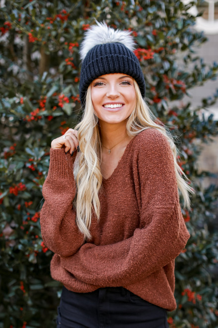 Camel - Fuzzy Knit Sweater from Dress Up
