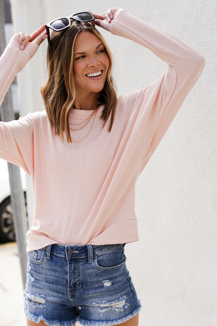 Blush - Oversized Pullover from Dress Up