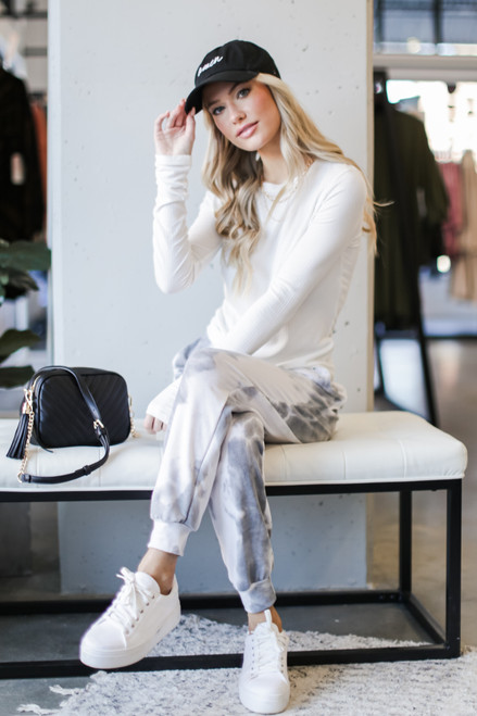 Grey - Tie-Dye Joggers from Dress Up