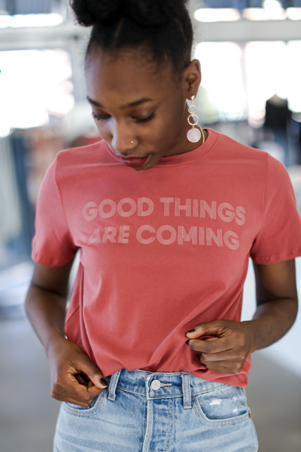 Marsala - Good Things Are Coming Graphic Tee