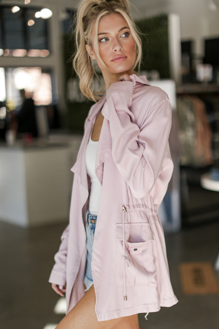 Blush - Utility Jacket from Dress Up