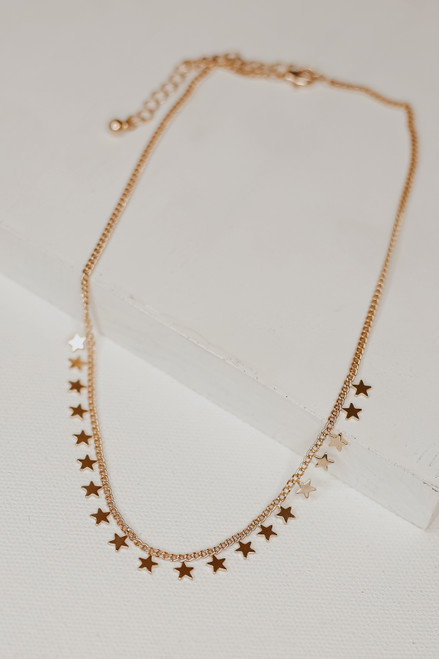 Gold - Star Necklace from Dress Up