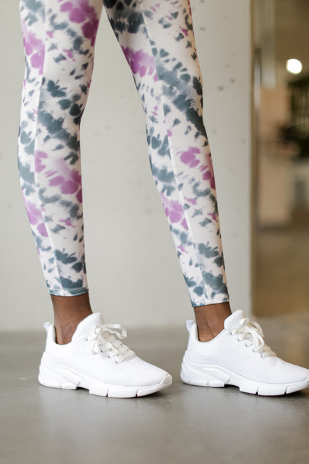 White - Knit Sneakers from Dress Up