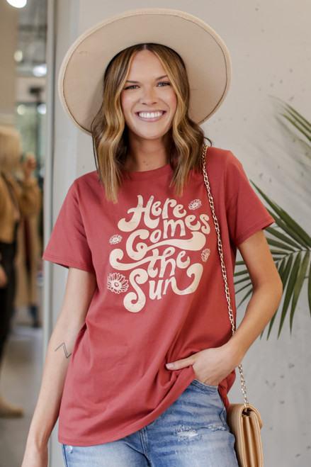 Marsala - Here Comes the Sun Graphic Tee