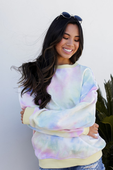 Multi Tie-Dye Sweatshirt from Dress Up