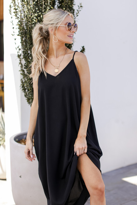 Black - Maxi Dress from Dress Up