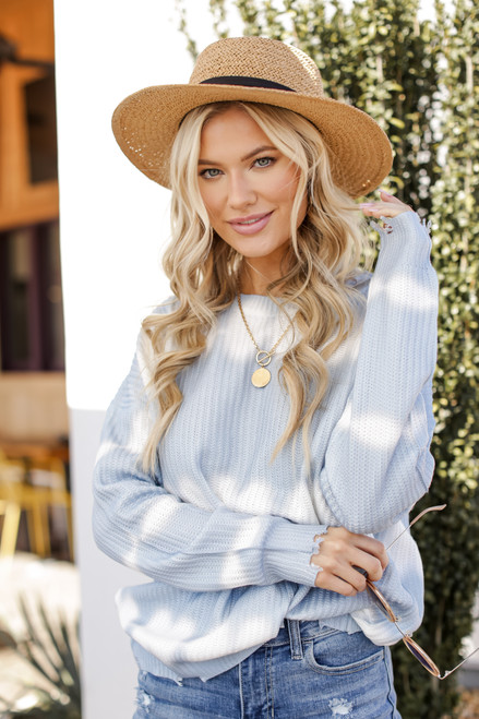 Light Blue - Summer Breeze Sweater