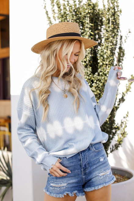 Light Blue - Summer Breeze Sweater from Dress Up