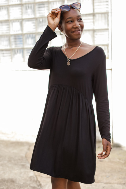 Black - Go-To Weekend Dress from Dress Up