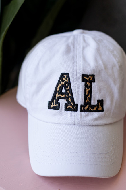 White - AL Leopard Cap from Dress Up
