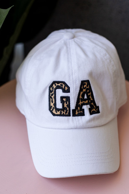 White - GA Leopard Cap from Dress Up