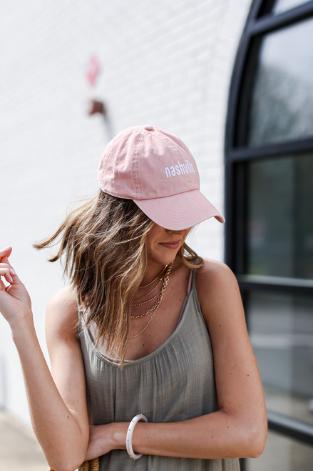 Blush - Nashville Summer Cities Hat from Dress Up