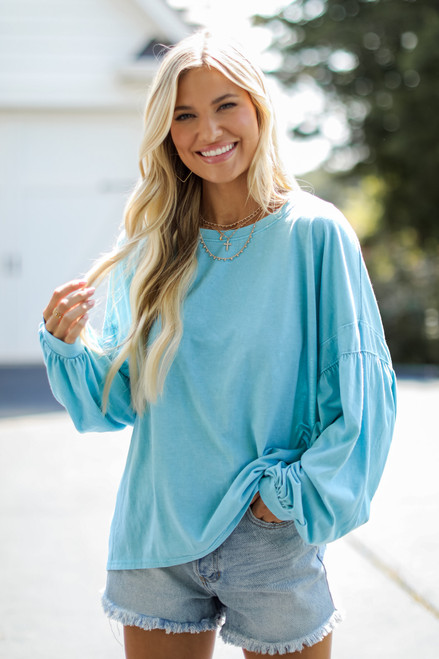 Teal - Oversized Tee from Dress Up