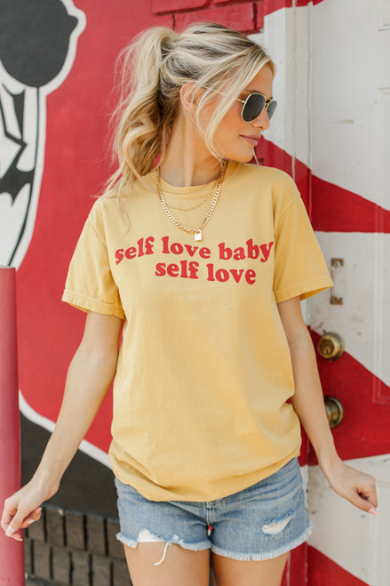 Mustard - Self Love Graphic Tee