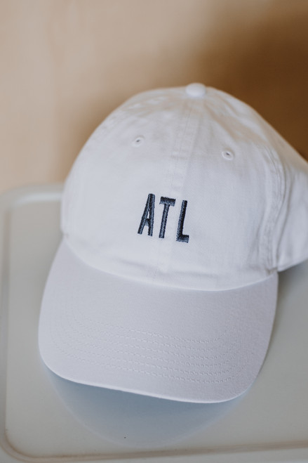 White - ATL Baseball Hat from Dress Up