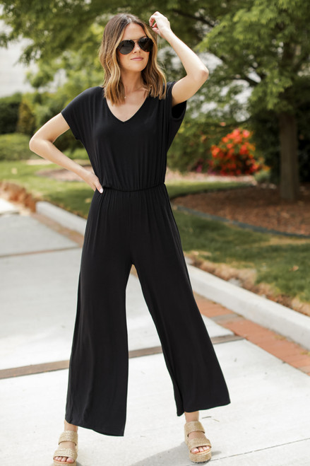 Black - Jersey Jumpsuit