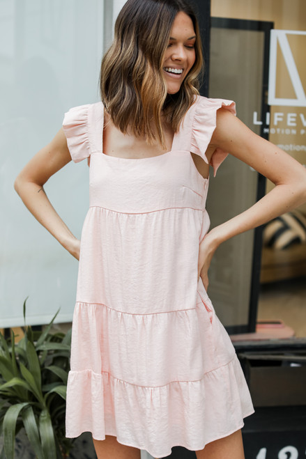 Blush - Ruffle Tiered Dress