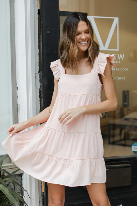 Blush - Ruffle Tiered Dress from Dress Up