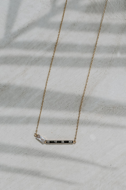 Gold - Bar Necklace from Dress Up