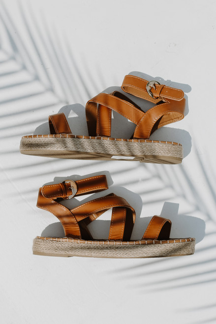 Camel - Espadrille Sandals from Dress Up