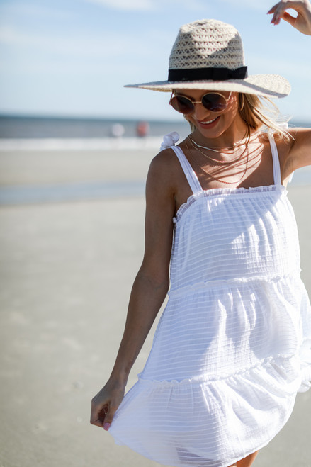 White - Tiered Dress from Dress Up
