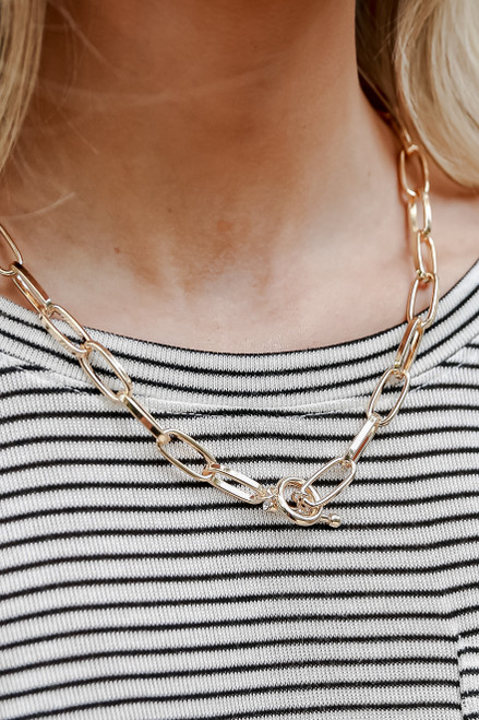 Gold - Chain Necklace