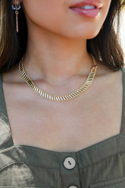 Gold - Heart Necklace