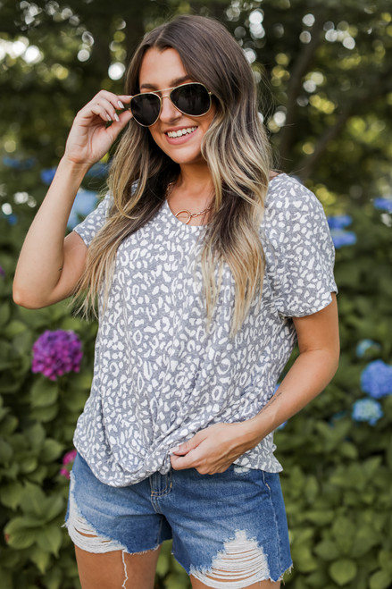 Grey - Tee from Dress Up