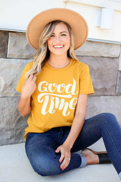 Mustard - Good Time Graphic Tee