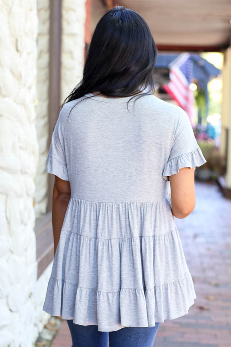 Candace Tiered Top