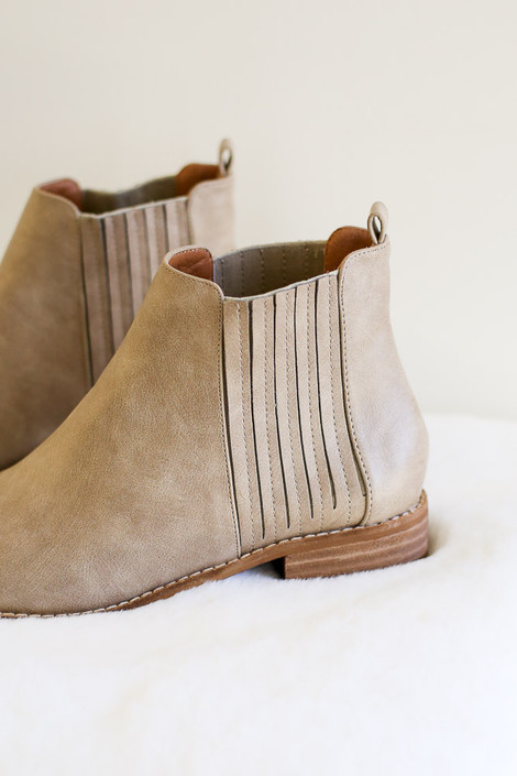 Taupe - The perfect taupe Chelsea boot