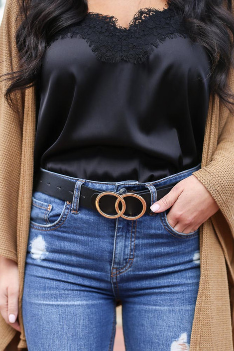 Black - Double O-Ring Belt