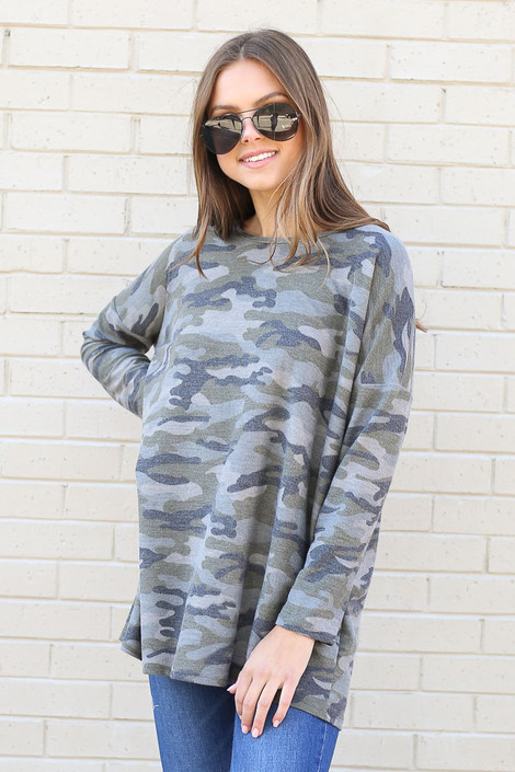Camo - French Terry Camo Top from Dress Up