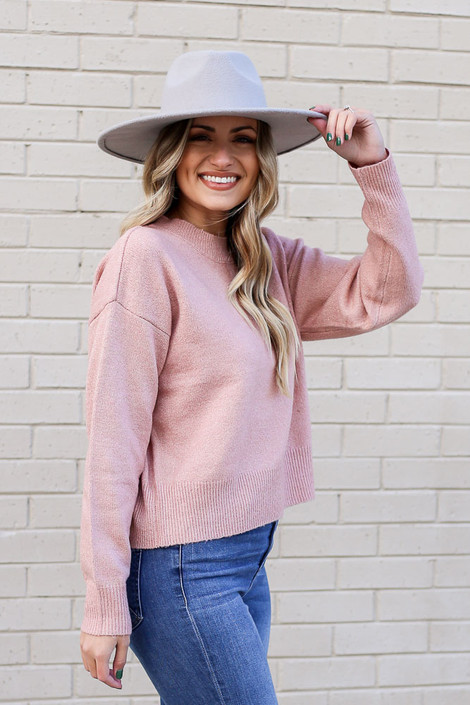 Pink - Metallic Knit Sweater from Dress Up