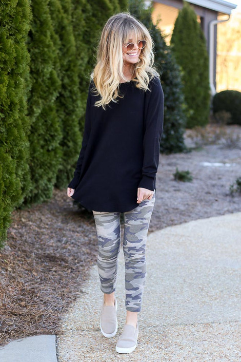 Camo - French Terry Camo Leggings
