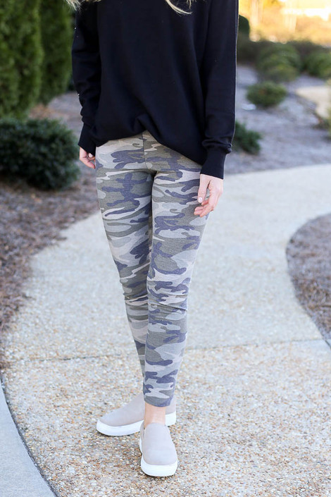 Camo - French Terry Camo Leggings from Dress Up