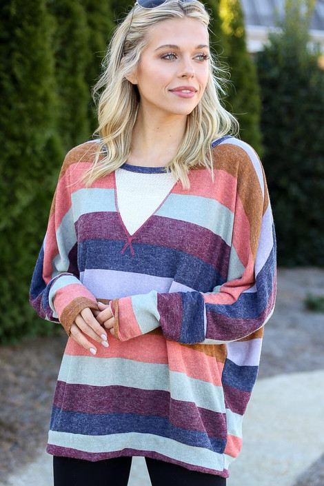 Striped Knit Top from Dress Up