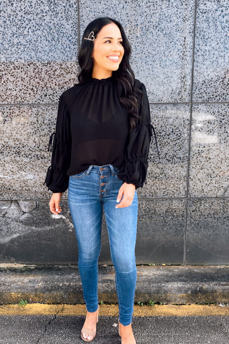 Camille Puff Sleeve Blouse